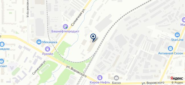 Вертэкс на карте