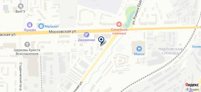 Компаньон, ООО на карте