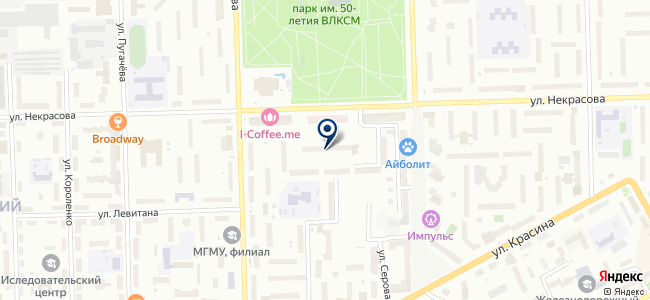 Горус, ООО на карте