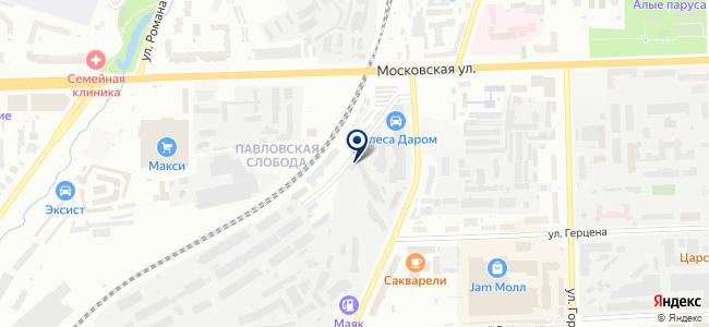 Монтажник, ООО на карте
