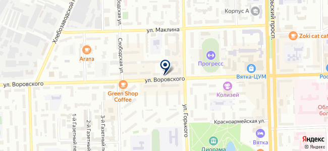 INTERIO на карте