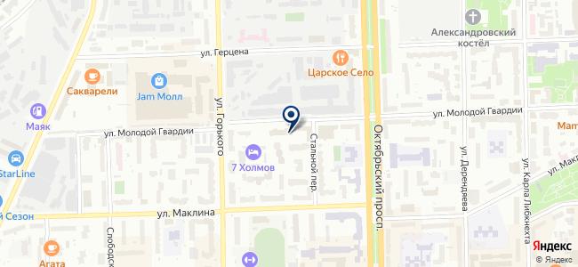Сервис-плюс, ООО на карте