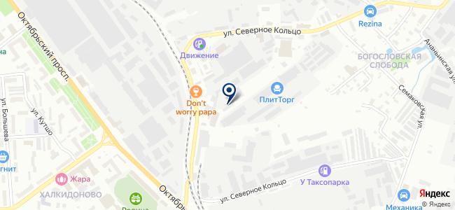 Архимед, ООО на карте