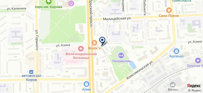 Электро-центр на карте