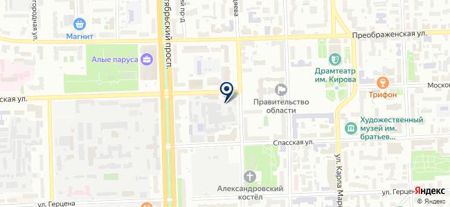 Вятстанкинвест, ООО на карте