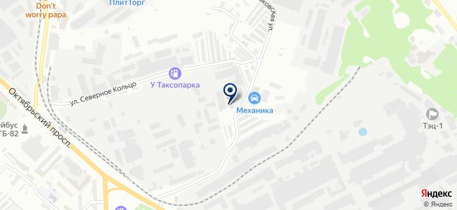 Контактор, ООО на карте