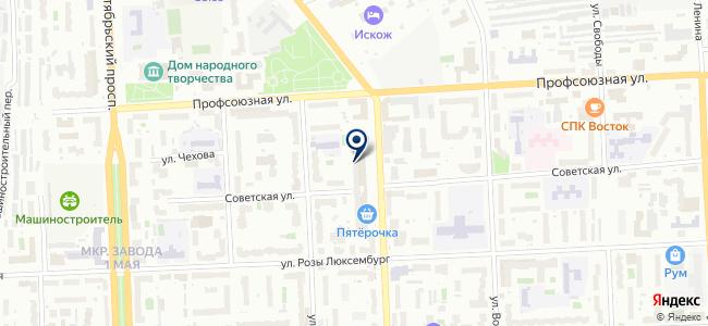 Стройбат, ООО на карте