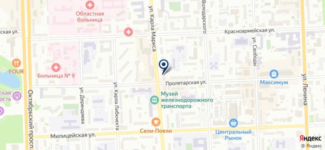 Силовик на карте