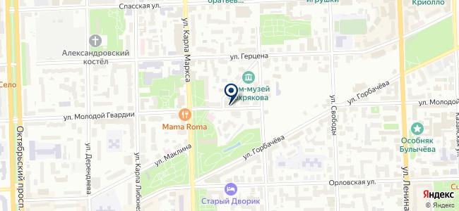 Домовой43 на карте