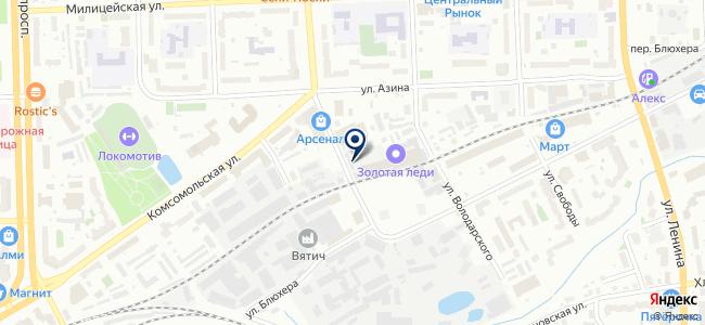 Омега-Энерго, ООО на карте