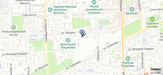 Диора, ООО на карте