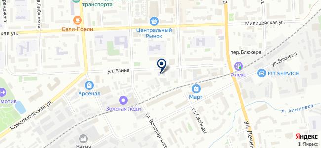 Мастерская на карте