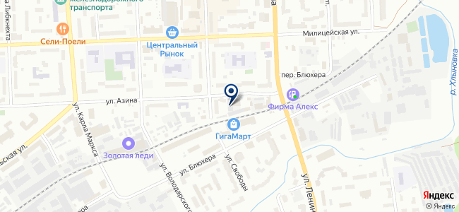 Радиотехник, ЗАО на карте