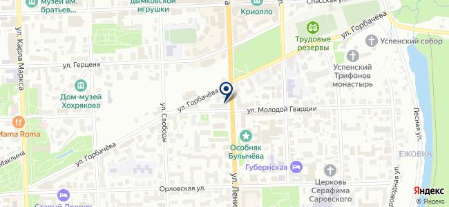 Парус, ООО на карте