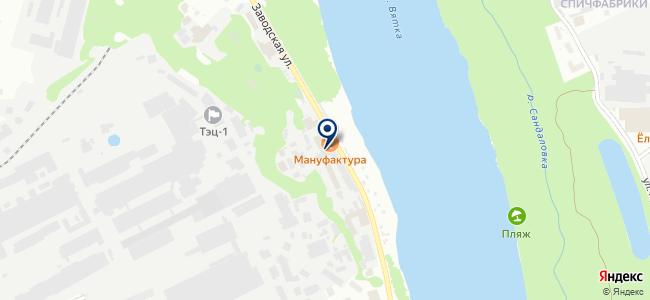 Спасательный круг, ООО на карте