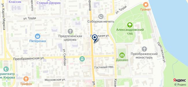 Макита на карте