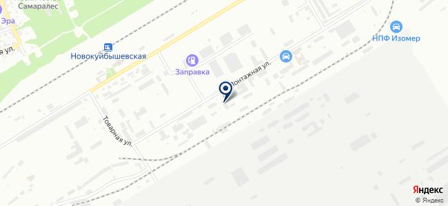 Новокуйбышевск-Волгоэлектромонтаж, ЗАО на карте
