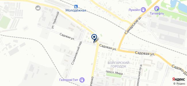Магазин стройматериалов на карте