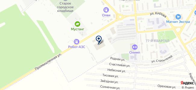 НМУ ПТП, Новокуйбышевское муниципальное унитарное пассажирское транспортное предприятие на карте