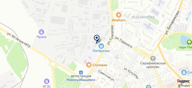 Электро, ООО на карте