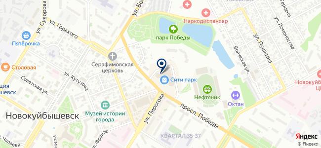 Чешский дом на карте
