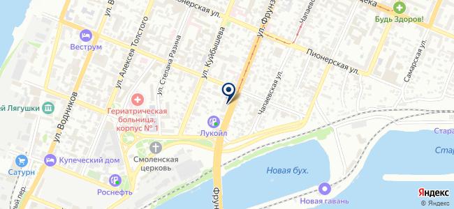 Самарский межотраслевой институт на карте