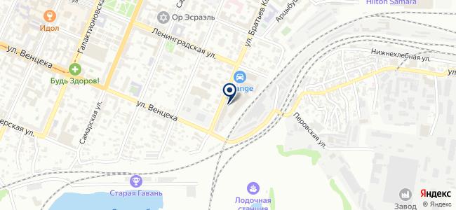 Дюйм на карте