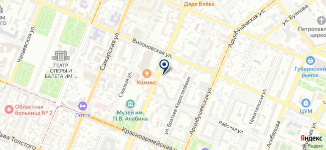 Крафт-С на карте