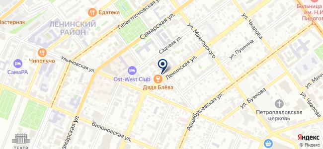 БЭСТ на карте