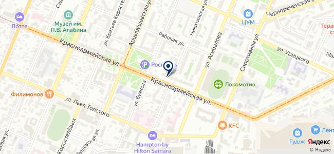 Энергосервер, ЗАО на карте