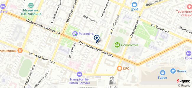 GPSка на карте
