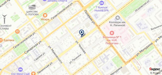 B8. Парк интерьеров на карте