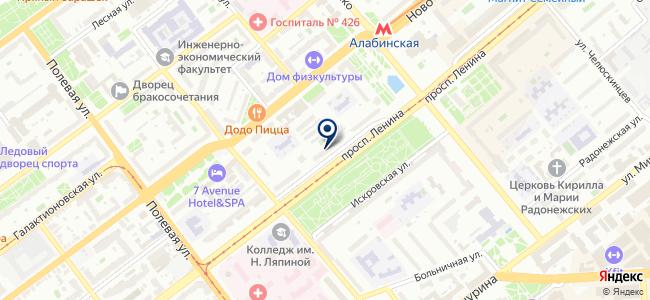 Aura of Bohemia на карте