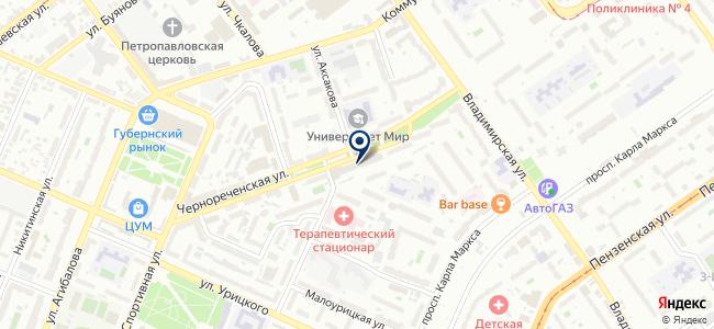 АЛЬФА-ЭНЕРГО, ООО на карте