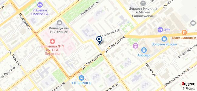 Электрикус на карте