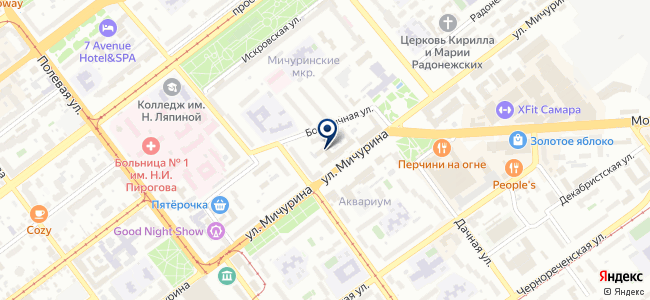 ВолгаТехСервис на карте