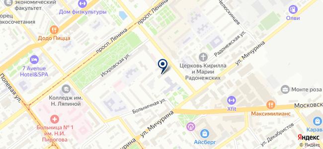 ДКС, ЗАО на карте