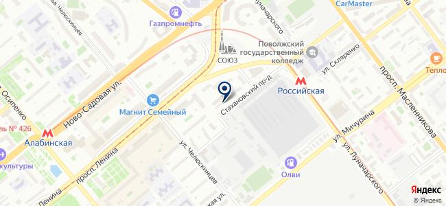 Опора, ООО на карте