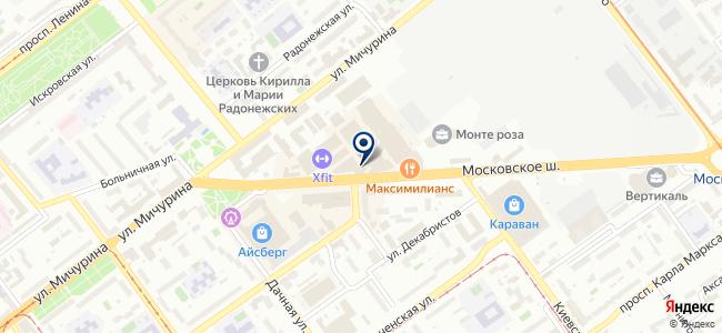 АББ на карте