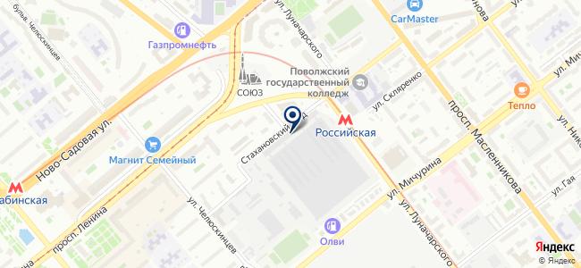 ГОРСНАБ, ООО на карте