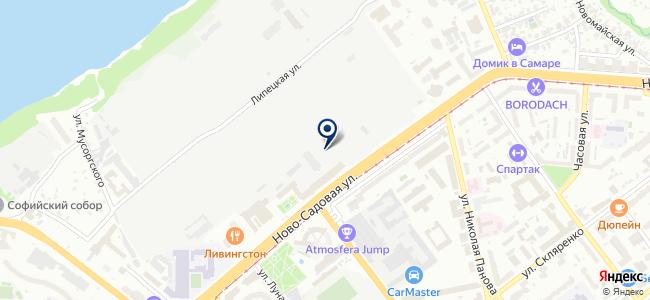 Сарос Дизайн на карте