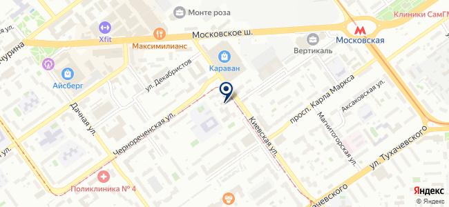 Метрология и Автоматизация, ООО на карте