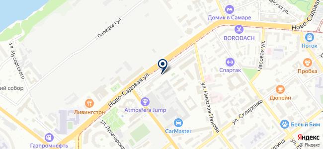 Электропортал на карте