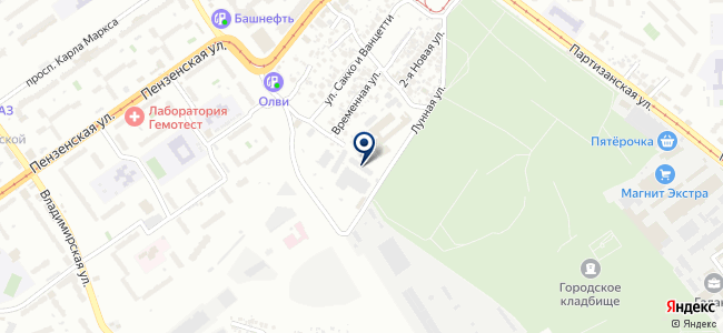 Стэк-Логистик, ООО на карте