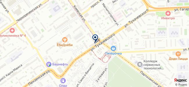 АВР на карте