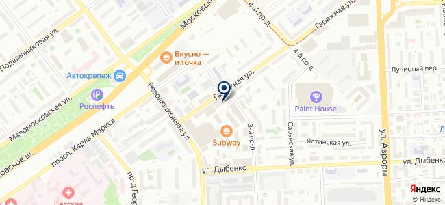 Самара-Волгоэлектромонтаж, ОАО на карте
