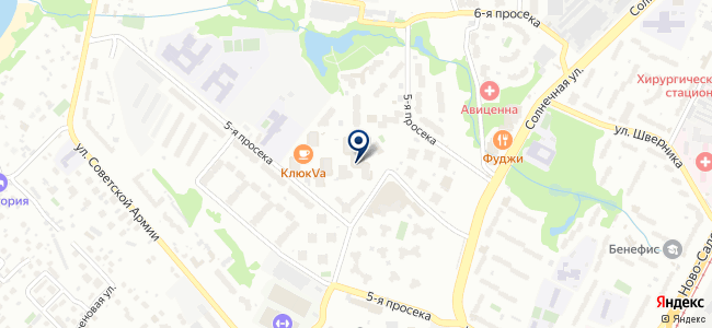 ОМП на карте