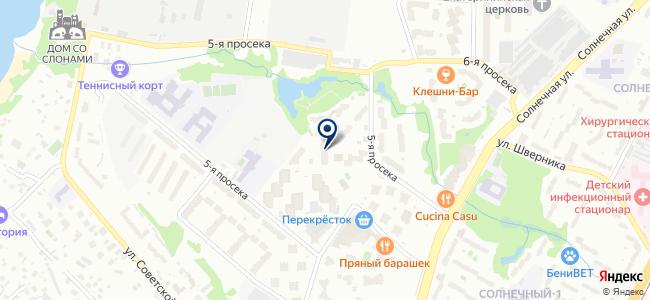 Юконсив на карте
