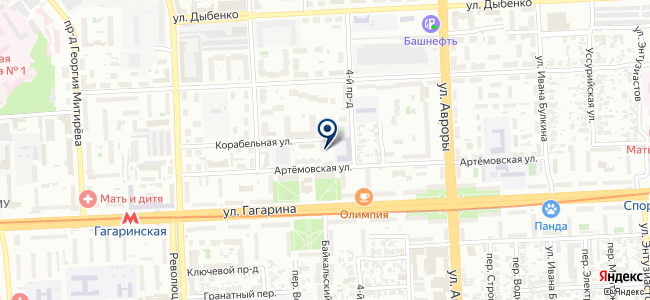 Check-servis на карте