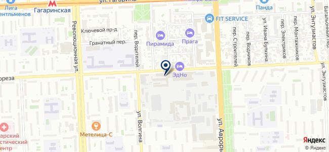 Пассажиртранссервис, МП на карте